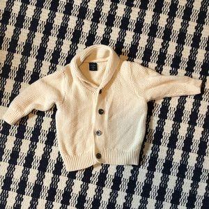 Baby Gap- Aran style cardigan; 12 -18 months
